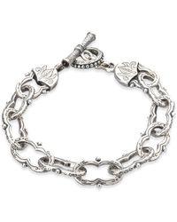 Konstantino - Classics Sterling Silver Toggle Bracelet - Lyst