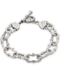Konstantino - Women's Classics Sterling Silver Toggle Bracelet - Silver - Lyst