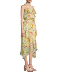 Parker - Vanna Handkerchief Dress - Lyst