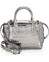 Nancy Gonzalez - Small Christie Convertible Leather Satchel - Lyst