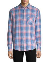 Rag & Bone - Beach Plaid Cotton-flannel Shirt - Lyst