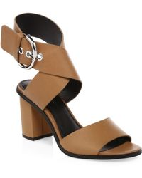Rebecca Minkoff - Valaree Leather Ankle-strap Sandals - Lyst