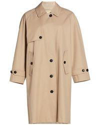 FRAME Mac Trench Coat - Natural