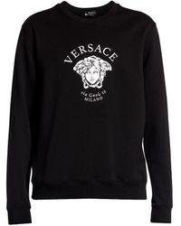 Versace Medusa Logo Sweatshirt - Black