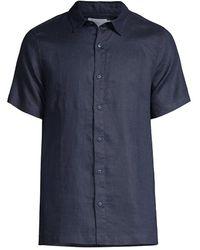 Onia - Samuel Linen Shirt - Lyst