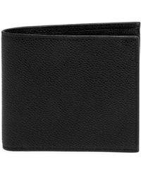 Thom Browne - Pebble-grain Leather Bi-fold Wallet - Lyst