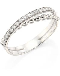 Hueb - Bubbles Diamond & 18k White Gold Ring - Lyst