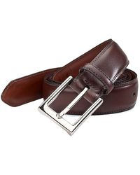 Saks Fifth Avenue Collection Leather Belt - Brown