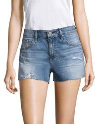 AG Jeans - The Bryn Denim Shorts - Lyst