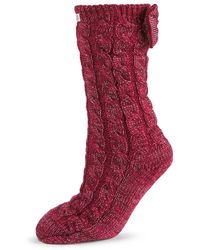 UGG Laila Bow Socks - Red