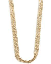 Eddie Borgo - Ball Chain Fountain Necklace - Lyst