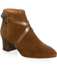 Aquatalia - Floretta Suede Boots - Lyst