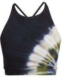 Electric and Rose Grayson Tie-dye Sports Bra - Multicolor