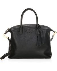 Tory Burch - Mcgraw Leather Slouchy Satchel - Lyst