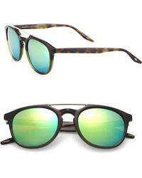 Barton Perreira - 52mm Square Top-bar Sunglasses - Lyst