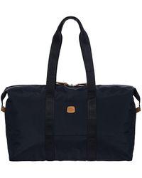 "Bric's X-bag 22"" Folding Duffel Bag - Blue"