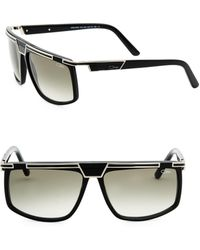 Cazal - Oversized Bar-top Sunglasses - Lyst