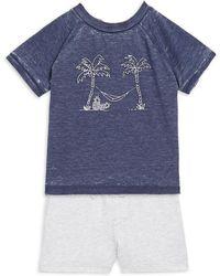 Splendid - Baby's Screen T-shirt And Short Set - Lyst
