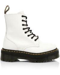 white doc marten jadon