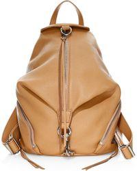 Rebecca Minkoff Julian Leather Backpack - Brown