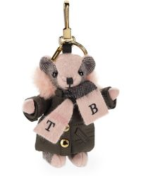 Burberry - Thomas Bear Charm In Puffer Coat And Scarf - Lyst