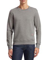 Acne Studios Faise Crewneck Sweatshirt - Gray