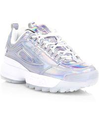 Fila Disruptor Ii Iri Womens White / Multi Sneakers
