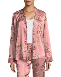 Joie - Lillit Floral Pajama Top - Lyst