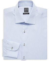 Ike Behar - Regular-fit Stripe Cotton Dress Shirt - Lyst