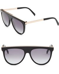 Balmain - 60mm Brow Bar Sunglasses - Lyst