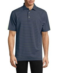 Peter Millar - Halifax Stripe Polo - Lyst