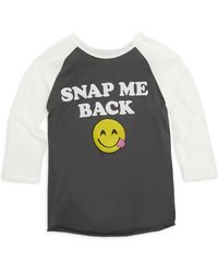 Junk Food - Girl's Snap Me Back Cotton Tank Top - Lyst