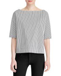 Polo Ralph Lauren - Striped Pullover Shirt - Lyst