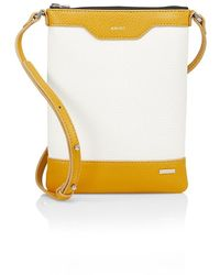 Amiri Leather & Canvas Crossbody Bag - Multicolor