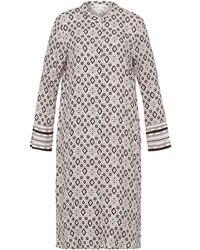 Hanro Favorites Long-sleeve Dress - Multicolor
