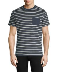 Barbour - Tow Stripe Short-sleeve Cotton Tee - Lyst