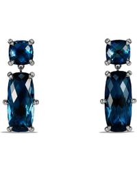 David Yurman - Chatelaine Double Drop Earrings With Gemstones And Diamonds - Lyst