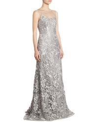 Liancarlo - Guipure Lace Gown - Lyst