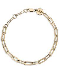 Jennifer Zeuner Maggie 14k Goldplated Oval-link Bracelet - Metallic