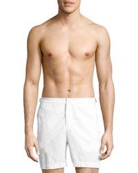 Orlebar Brown - Minimalistic Zippered Shorts - Lyst