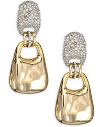 Alexis Bittar - Elements Encrusted Swinging Clip Earrings - Lyst