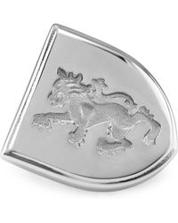David Donahue - Sterling Silver Griffin Brooch - Lyst