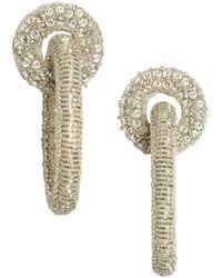 Lizzie Fortunato Disco Link Earrings - Metallic