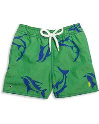 Ralph Lauren - Baby's Shark-print Swim Trunks - Lyst