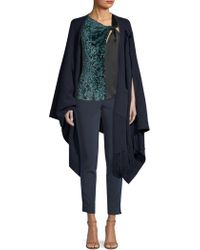 Yigal Azrouël - Reversible Two-tone Cashmere Poncho - Lyst