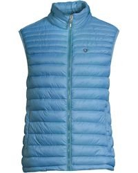 Strellson Slim-fit Quilted Down Vest - Blue