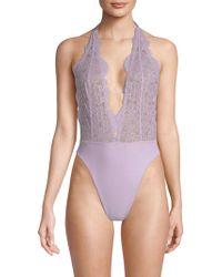 Les Coquines - Marilelle Lace Bodysuit - Lyst