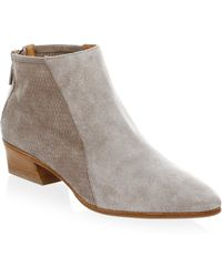 Aquatalia - Fianna Suede Ankle Boots - Lyst