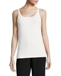 Eileen Fisher - System Silk Jersey Camisole - Lyst
