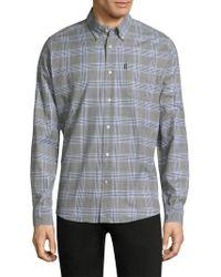 Barbour - Louis Plaid Regular-fit Cotton Button-down Shirt - Lyst